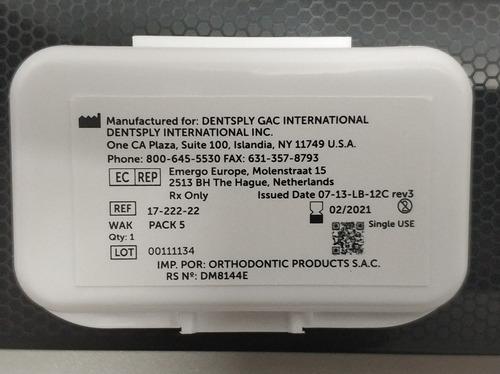 cera dental para ortodoncia (made in usa)