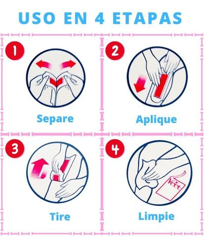 cera depilatoria veet p/sensible pg 12 lleve 16 bandas cera