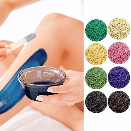 cera elastica depilatoria perlas caliente 1 kg.