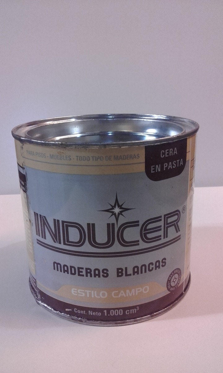 Cera En Pasta Inducer Para Maderas Algarrobo-pino-est.campo - $ 340 ...