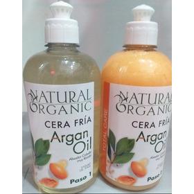 Cera Fria De Argan Natural Organic