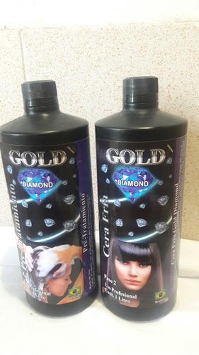 cera fria marca gold diamont original de litro