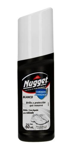 cera líquida calzado color blanco 60ml nugget