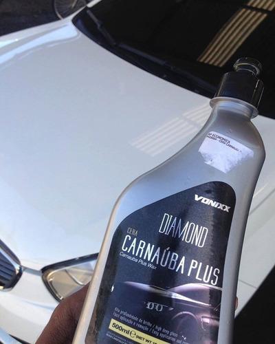 cera liquida protetora limpadora carnaúba plus 500ml vonixx