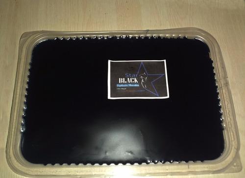 cera  negra azul elástica depilatoria 1k + espátulas
