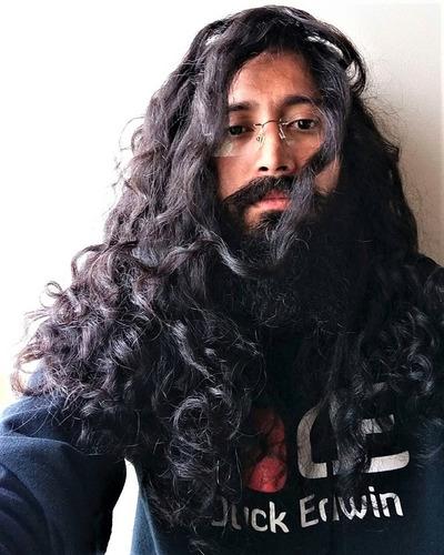 cera negra moldeadora para barbas / super light 100% natural