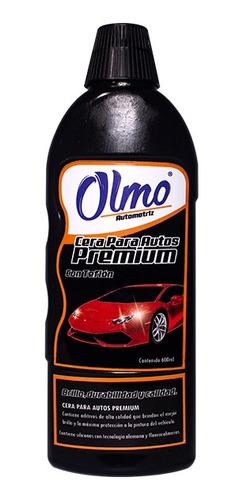 cera para auto premiun 600 ml olmo automotriz