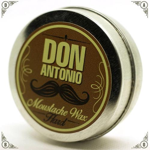 cera para bigote don antonio beard oil // the strongman
