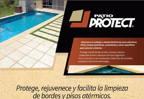 cera para pisos y bordes atermicos de piscinas - 4 litros