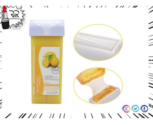 cera roll on depilar facial corporal