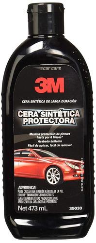 cera sintética para auto protectora de larga duración 473 ml