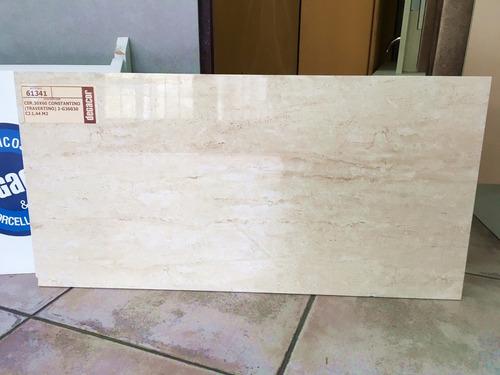 ceramica 30x60 beige pulido antimancha constantino 1era baño
