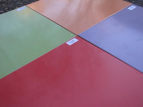 ceramica 33x33 colores rojo verde lila naranja. española
