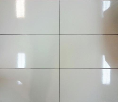 ceramica blanca brillante 31x53 - 1ra calidad. oferta!!