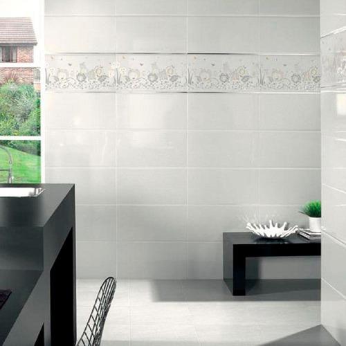 ceramica blanco brillante 30x60 rectificado portinari p
