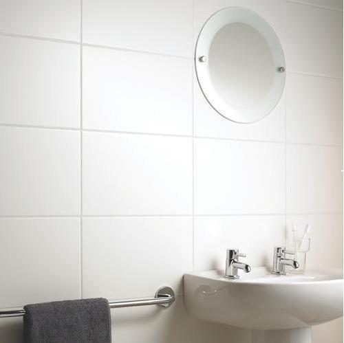 ceramica blanco liso satinado cortines 30x45 m2