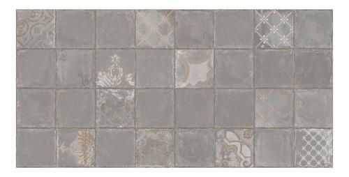 ceramica cerro negro calcareo deco gris 45x45 1ra calidad