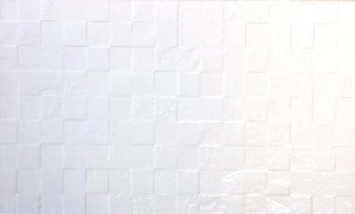 ceramica cortines 35x60 blanco damero 1era pared cocina baño