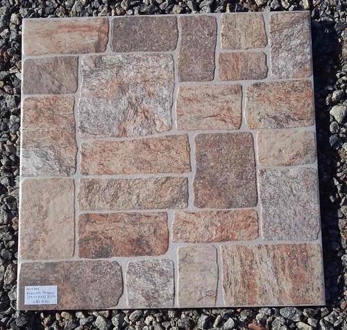 ceramica de exterior  granitti marrone