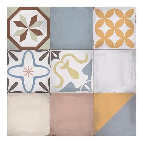 cerámica de piso mosaico vecchio 51x51 1ra c alberdi cuotas