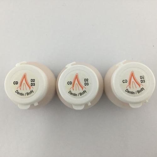 ceramica dental ips d.sign dentin d2 d3 3 x 1 novacekdental
