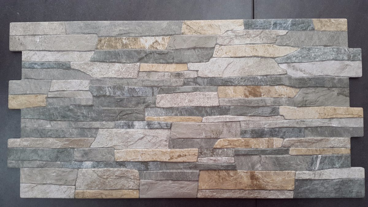 Ceramica imitacion piedra full hd color gris u s 30 00 for Baldosas de pared exterior