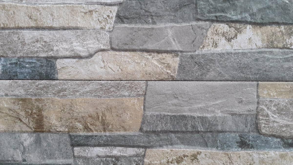 Ceramica imitacion piedra full hd color gris u s 30 00 - Color piedra pintura pared ...