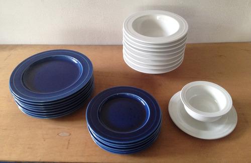 cerámica italiana franco pozzi (31 pcs)