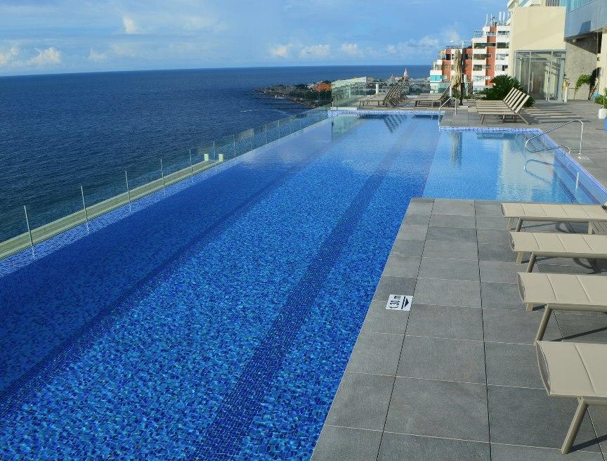 Cer mica mosaico enchape para piscinas m2 en for Piscinas plasticas colombia
