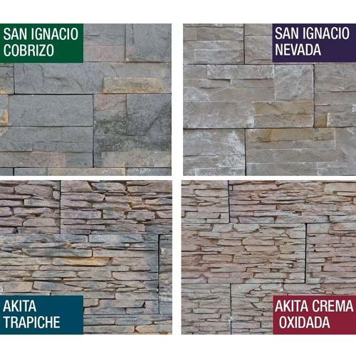ceramica murete laja pared piedra textura rustico decoracion
