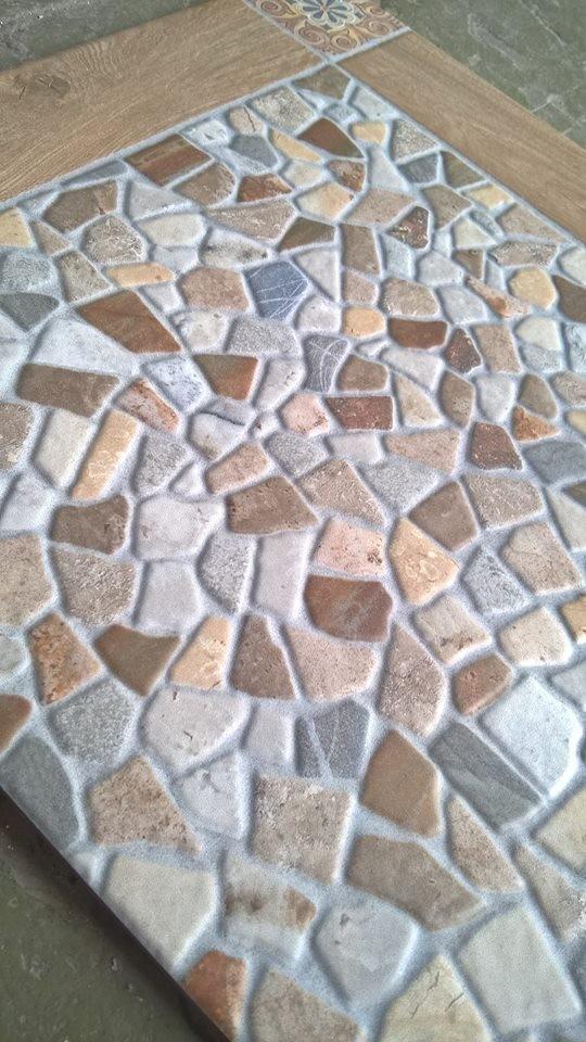 cerámica para piso patio exteriores antideslizante 45x45 cm