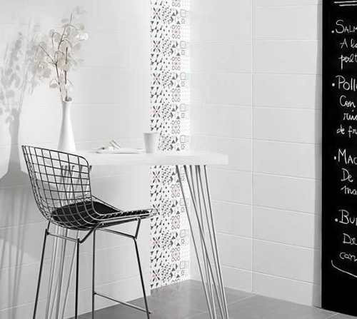 ceramica pared net blanco satinado 30x60 1ra cal san lorenzo