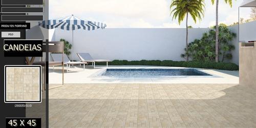 ceramica piso exterior candeias 45x45 1a granulado precio m2