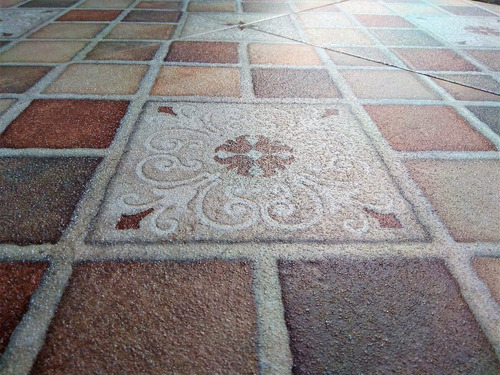 ceramica piso exterior patios parrilleros 55x55 cm.