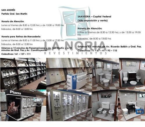 ceramica piso huilan verde 33x33 san lorenzo decorada 1° cal