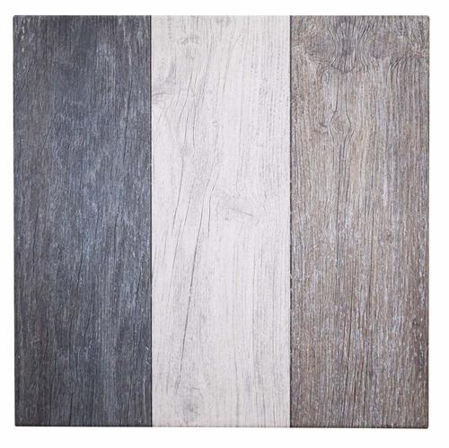 cerámica piso simil madeira mix 57x57 cerámicas castro.