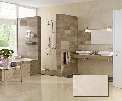 ceramica pulpis crema eliane 32x60 simil marmol brillante