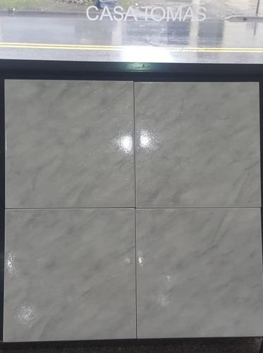 ceramica ravena 45x45 1ra. piso gris brilante - precio x m2
