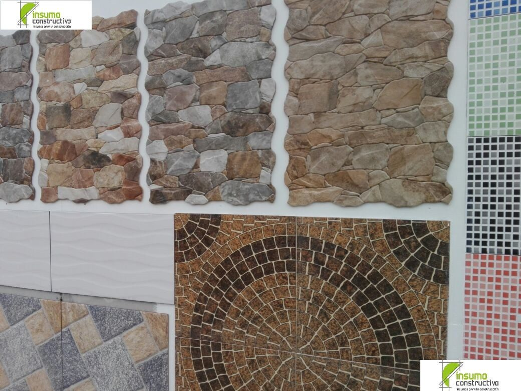 Ceramica revestimiento dise o interior exterior m2 184 for Azulejos patio exterior