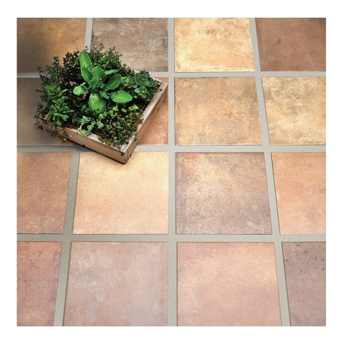 ceramica san lorenzo terre mix ladrillo 33x33 1era