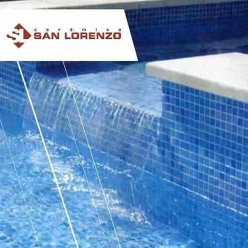 ceramica san lorenzo veneciano aguamarina piscina 33x33 1era