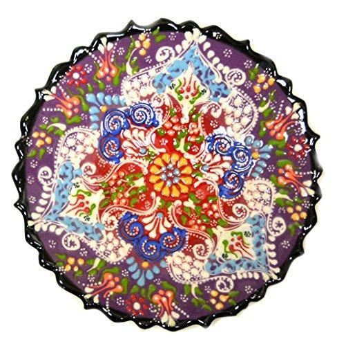 Cer mica turca placa de cer mica pintada a mano 7 for Utensilios de cocina turca