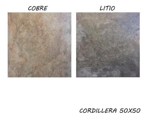ceramicas de piso cortines cordillera simil piedra 50x50 1ra
