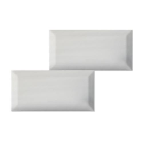 cerámico brick 7,5x15 blanco brillo bisel importado subway