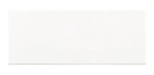 ceramico san lorenzo net line blanco sat 20x50 2da calidad