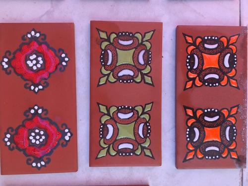 ceramicos 8x16 con dibujos. moron. moreno. mecedes