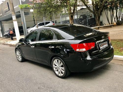 cerato ex 1.6 aut 12 preto + pneus novos !!