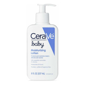 Cerave Baby Lotion | 8 Onzas | Cuidado Suave De La Piel Del