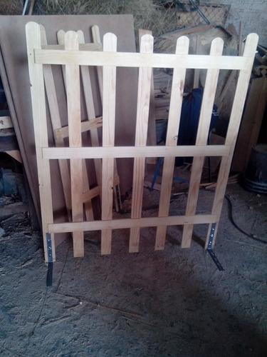 cerca de madera para piso de concreto o exteriores