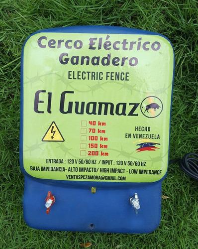 cerca electrica ganadera impulsor energizador 200km